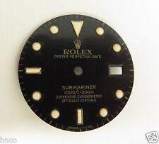 .VINTAGE ROLEX SUBMARINER BLACK DIAL 16613 16618 - USED