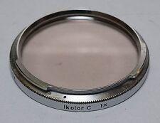 Used Zeiss Ikon Contarex Lens B56 Ikolor C 1X filter Planar Sonnar