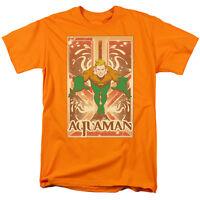 Aquaman T-Shirt DC Comics Sizes S-3X NEW