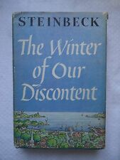 THE WINTER OF OUR DISCONTENT BY JOHN STEINBECK VIKING PRESS 1961 HARDCOVER BOOK
