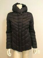 PATAGONIA Black Downtown Hooded Goose Down Puffer Parka Jacket Small $249