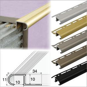 ANTI-SLIP STAIR NOSING EDGE TRIM STEP NOSE EDGING NOSINGS FOR TILES A81