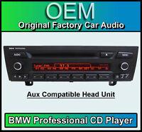 BMW Professional CD player BMW 3 Series stereo car radio BMW E90 E91 E92 E93 AUX