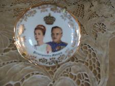 Principaute' de Monaco , MONOCO, MONTE CARLO  Porcelaine France Small Plate