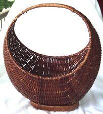 Large Sling Type Basket Half Circle Stand Up