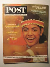 Saturday Evening Post 2-29-1964. Germany & the Pope WWII! Harlem Slumlords!