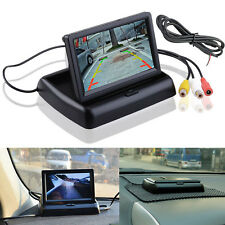 """4.3"""" Fold Monitor For Video Car Rear Forward Back View Side Front Parking Camera"""