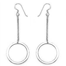 Ohrringe Ohrhaken 925 Sterling Silber 3,2 Gramm rhodiniert Neu #139