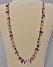 Sapphire Yellow Gold Retro Fine Jewellery (1940s)