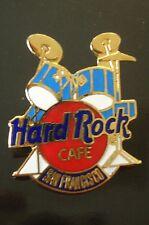 HRC hard rock cafe san Francisco Blue Drum set red Logo