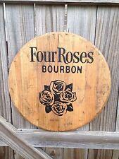 Four Roses Bourbon Whiskey Barrel Top
