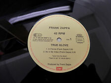 "Frank Zappa-True Glove German Import 45 RPM 12"" Near Mint Rare Incredible Sound"