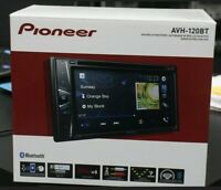 Pioneer AVH120BT 6.2 Inch Double Din DVD/MP3/CD Player BRAND NEW