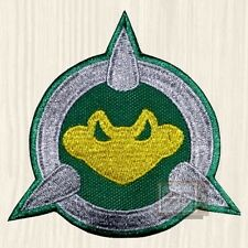 Battletoads Shield Embroidered Big Patch Console Arcade Genesis Double Dragon