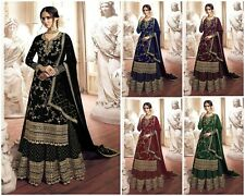 Salwar Kameez Dress Pakistani Indian Suit Designer New Palazzo Stitched KB