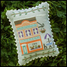 10%Off Country Cottage Needleworks Counted X-stitch chart - Main Street Cafe