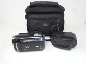 JVC Everio HDD Camcorder GZ-MG670BU 80GB - Tested Working!