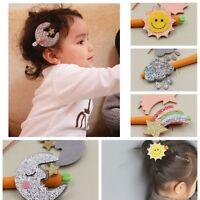 Hair Accessories Sunshine Clip Kids Headwear Rainbow Hairpin Girls Barrettes