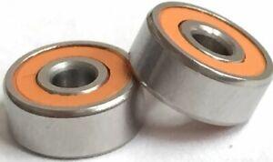 ABU GARCIA ORANGE SEAL 4500 5500 6500 C3 C4 ABEC 7 CERAMIC HYBRID Spool Bearings