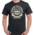 Forever Two Wheels hombre motero Camiseta MOTO indio moto motocicleta Mc Club