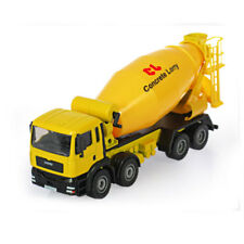 1:50 Scale Diecast Cement Mixer Truck Construction Vehicle concrete lorry toy
