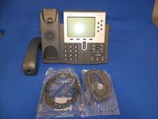 Cisco CP-7962G IP Phone - SIP - SCCP - Grade A/B+ Lot of 10 VoIP POE