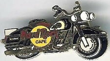 Hard Rock Cafe TAIPEI 1990s Black & Gold Motorcycle BIKE PIN - HRC Catalog #9592