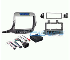 CAMARO SINGLE OR DOUBLE 2 DIN CAR STEREO DASH MOUNTING KIT W/ CLIMATE CONTROLS