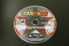 Homefront  (Sony Playstation 3, 2011) *Tested