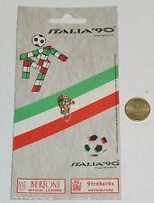 SPILLA ITALIA '90 MASCOTTE CIAO - MONDIALI DI CALCIO 1990 NUOVA IN METALLO