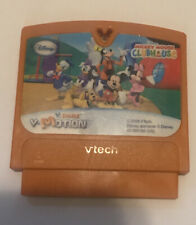 V.MOTION DISNEY MICKEY MOUSE CLUBHOUSE VTECH VSMILE GAME CARTRIDGE WORKS GREAT!