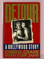 DETOUR LANA TURNER  MURDER SCANDAL- CHERYL CRANE SIGNED 1ST-VERY GOOD CONDITION