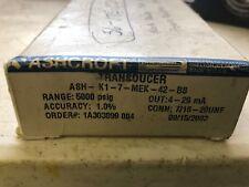 Ashcroft K1-7-Mek-42-B8 Transducer