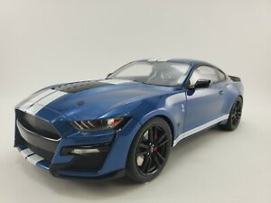 2020 Ford Mustang Shelby GT500 Performance Blue 1:12 Resin by GT Spirit (US023)