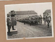 Foto 2 WK 2 x Grimma General Militärparade 2 x Original Foto ca 12 cm x 9 cm