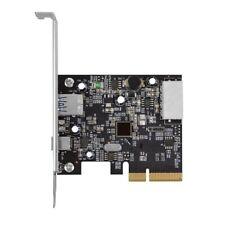 NEW USB 3.1 PCIe Card 2 Ports (Type A+C) Apple Mac Pro 3,1 4,1 5,1 (2008-2012)