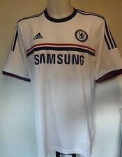 Chelsea FC 2013/14 Away Camicia Da Adidas Adulti Taglia Media Con Etichette Nuovo di Zecca