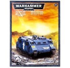 Brand-NEW: Space Marines RHINO TANK Games Workshop Warhammer 40K=Lowest Price!