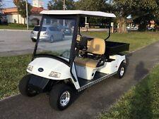 white star 2011 LSV 48v STREET LEGAL 2 Passenger utility long bed golf cart FAST