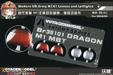Voyager BR35101 1/35 Modern US Army M1A1 Lenses and taillights(For DRAGON)