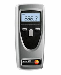 Testo 465 tachometer speed revolution speedometer tester rotation 0563 0465