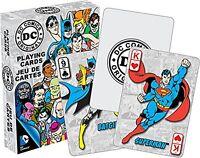 Carte DC Comics da Gioco Set di 52 (nm) Retrò