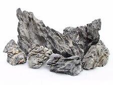3 KG GREY MOUNTAIN ROCK STONE AQUARIUM IWAGUMI STYLE SET OF STONES AQUASCAPING