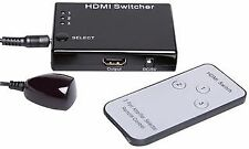 3 WAY HDMI SWITCH+REMOTE Audio Visual Switches - CV64666