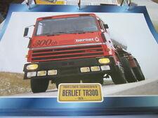 Super trucks front guidon FRANCE BERLIET tr300, 1975