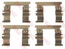 pfk697 TRW Kit accessori, PASTIGLIE FRENO asse anteriore