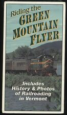 Riding The Green Mountain Flyer Railroad RR / VHS Tape / Vermont / Video / NEW