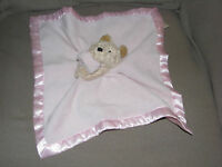 DISNEY WINNIE THE POOH BABY GIRL PINK CLASSIC SATIN SECURITY BLANKET LOVEY