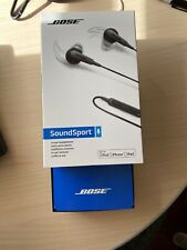 Bose SoundSport In-ear Charcoal Black Wired Headphones (7417760010) Used