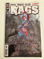 "RAGS #3 -- ""Exposed"" Variant Cover -- NM 9.4"